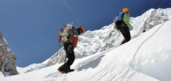 Collinson šlape na Everest