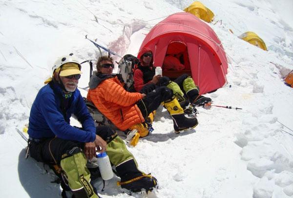 V tábore pod Everestom