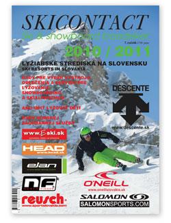Ski contact - titulná stránka