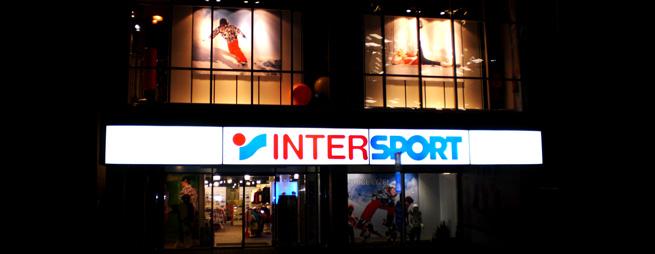 Predajňa Intersport na Dunajskej ulici
