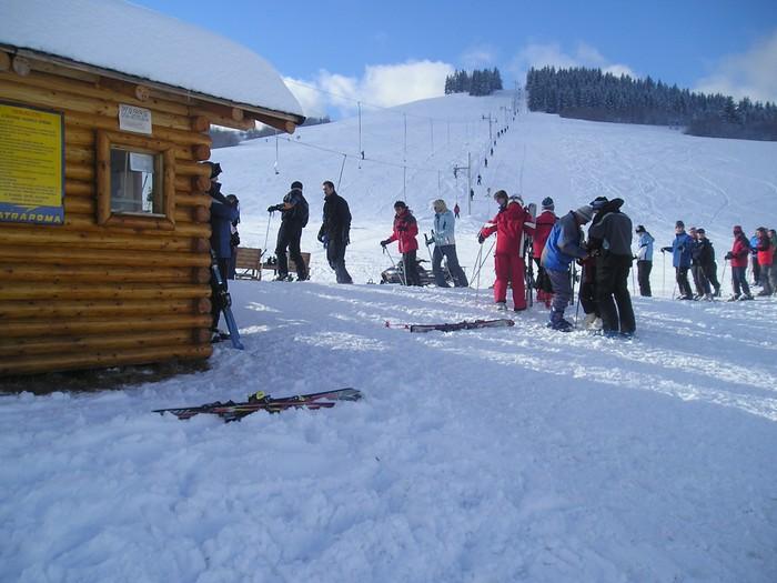 Mapa svahov v stredisku Ski Rejdová