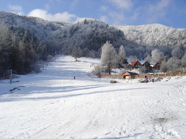 Mapa svahov v stredisku Skicentrum Kordíky
