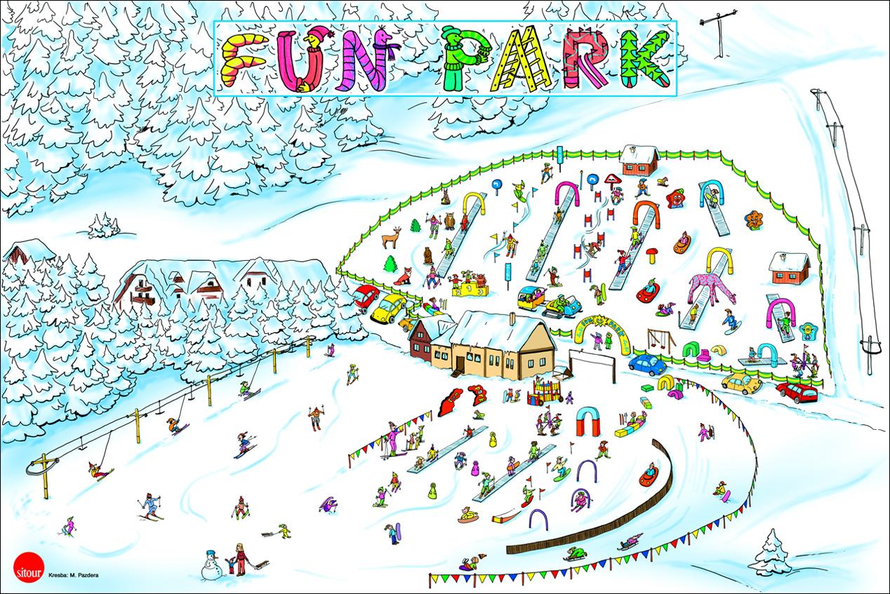 Funpark v stredisku Park Snow Donovaly