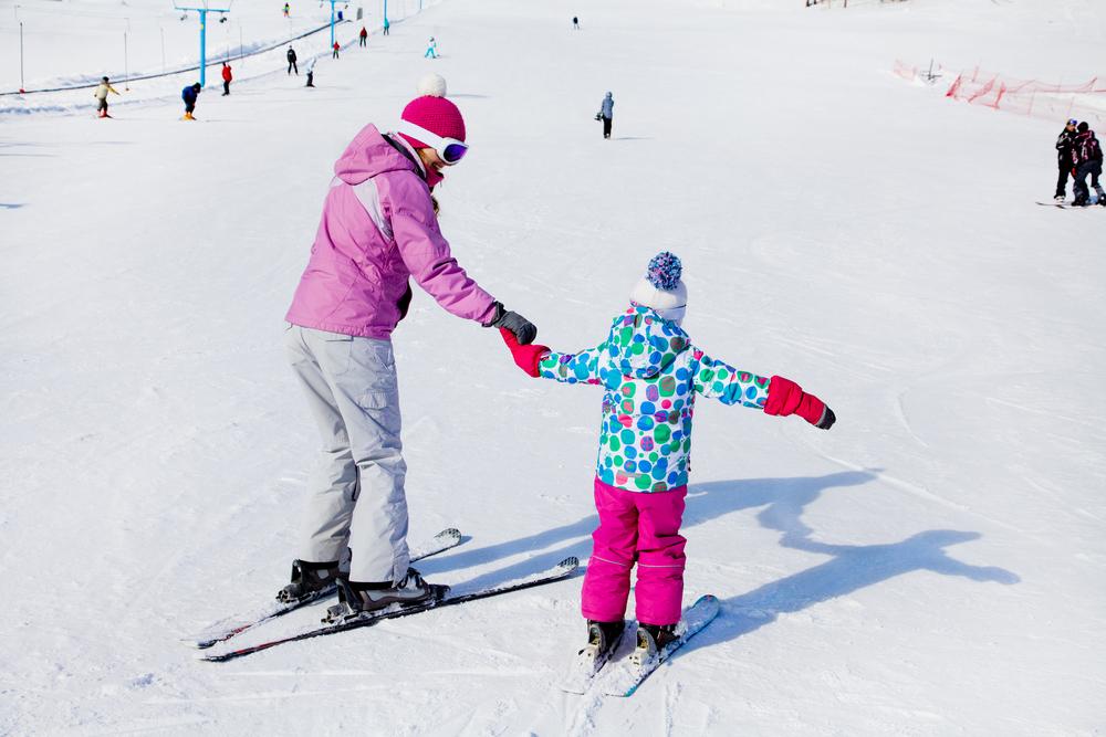 Ako naučiť dieťa lyžovať. Foto: Shutterstock