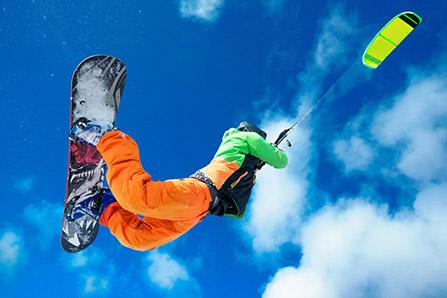 Snow kite. Foto: Shutterstock