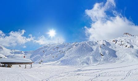 Rakúske lyžiarske stredisko Kaprun - Zell am See. Foto: Shutterstock