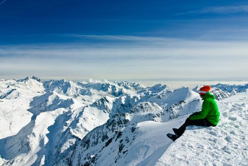 Výhľad na trojtisícovky. Foto: Shutterstock