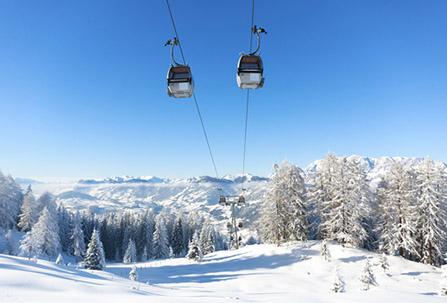Rakúske lyžiarske strediská. Foto: Shutterstock
