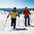Zimná turistika s výhľadom doďaleka