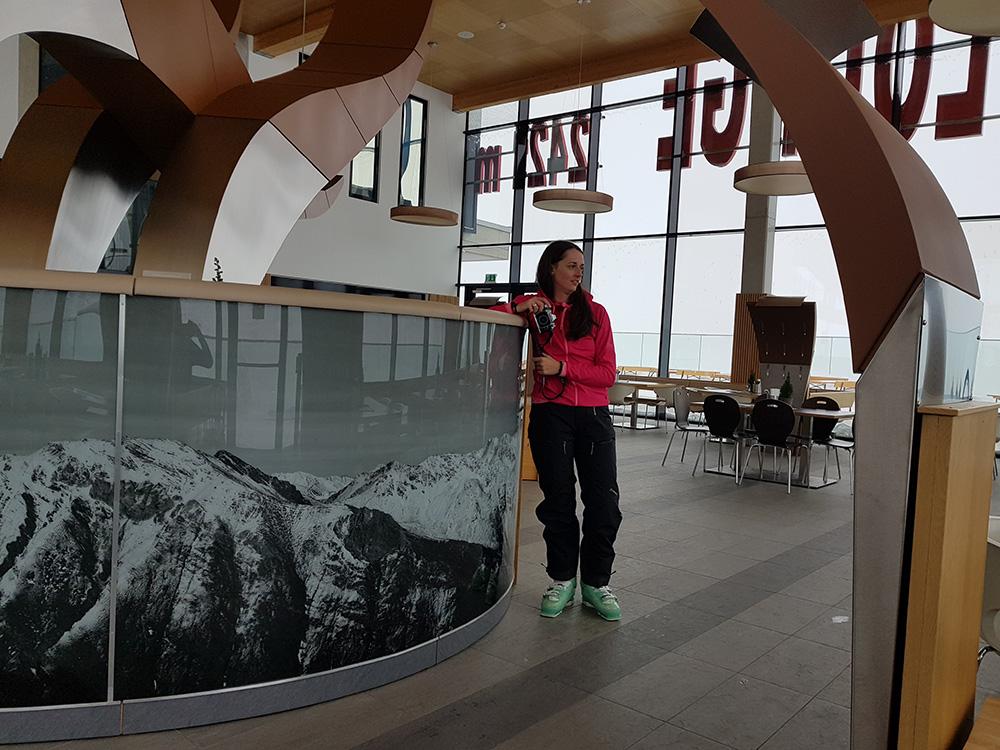 Reštaurácia Adler Lounge - najvyššie položená reštaurácia s Michelinovou hviezdou vo Východnom Tirolsku.