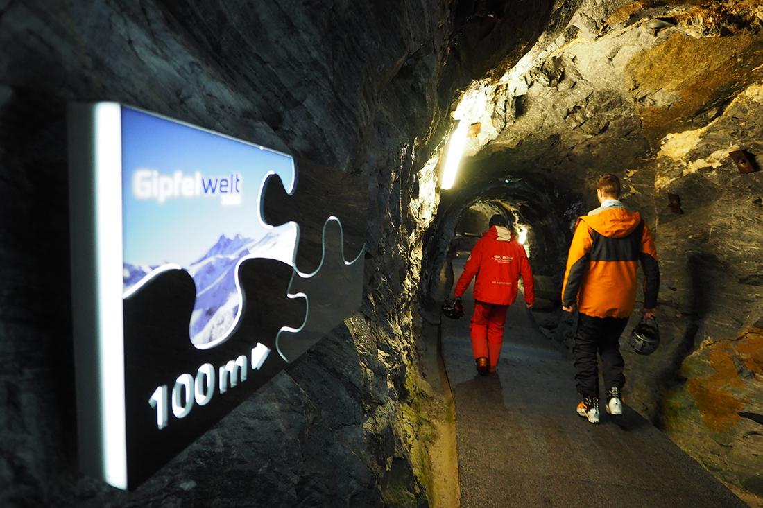 Tunel, pôvodne slúžiaci na ťažbu drahých kameňov.