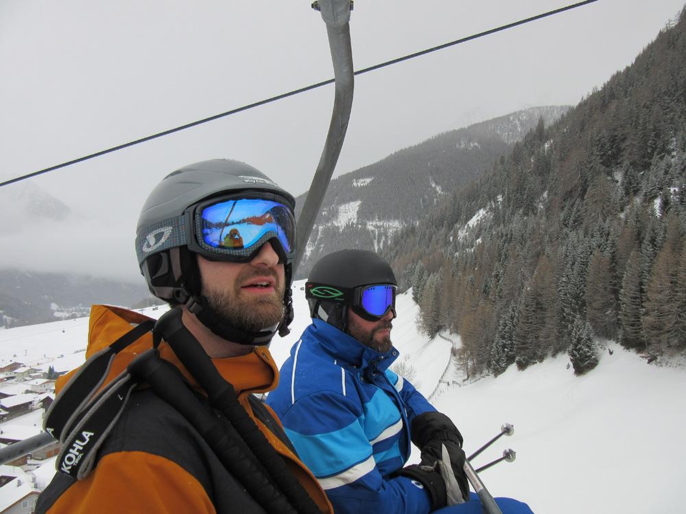Lyžovačka v rezorte Großglockner - najväčšie lyžiarske stredisko vo Východnom Tirolsku.