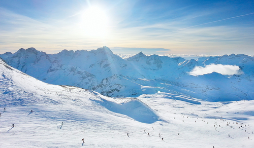 Les Deux Alpes. Foto: Shutterstock