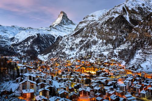 Zermatt pod Matterhornom. Foto: Shutterstock