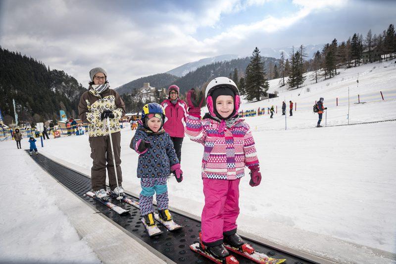 V novom lyžiarskom stredisku Schneeberg nájdete horu (snehových) ponúk. Foto: (c) NÖVOG, Franz Zwickl