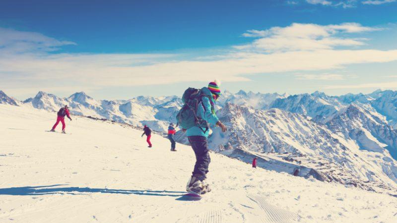 Vďaka zlepšenémubalansu budete maťsvoje telo pod kontrolou aj na snowboarde. Foto: Shutterstock