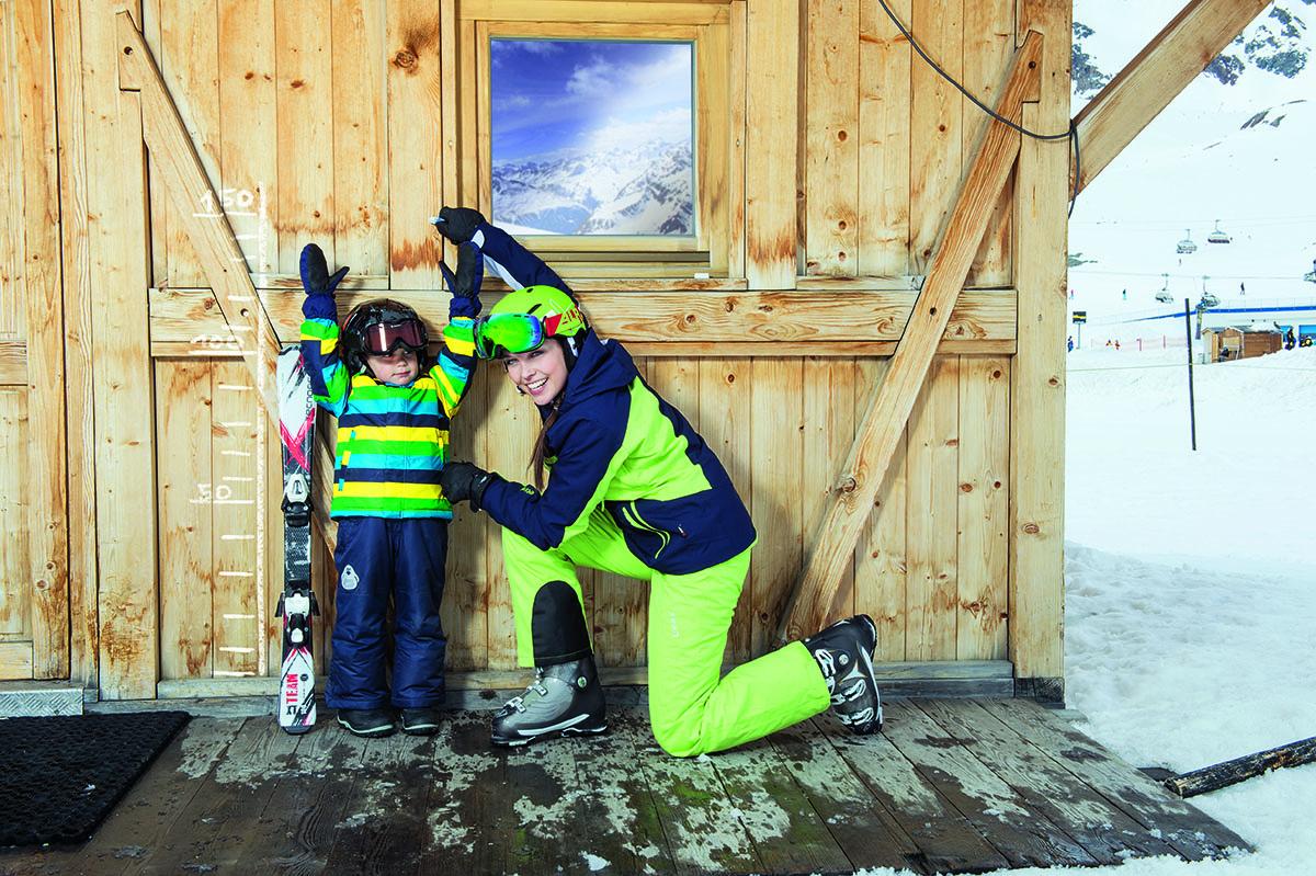 Detské lyže. Foto: Intersport