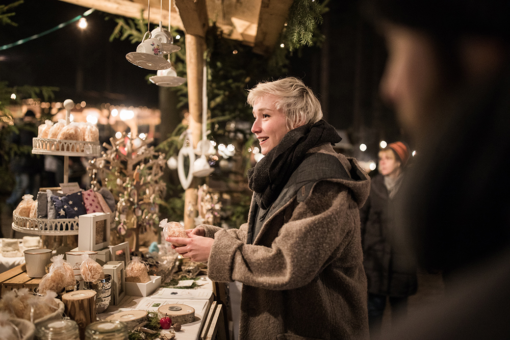 Vianočné trhy. Foto: Oberoesterreich Tourismus, Robert Maybach