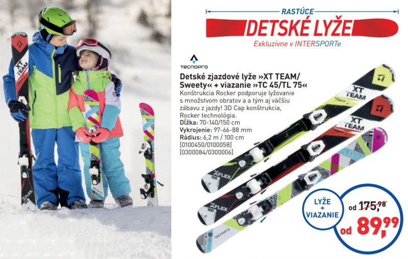 Rastúce detské lyže