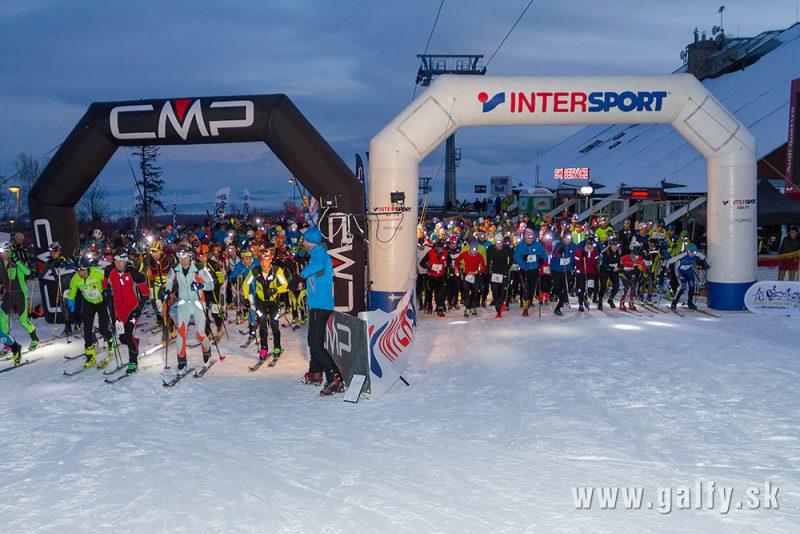 Pretekať sa bude v kategóriách skialp, beh a bežecké lyžovanie.