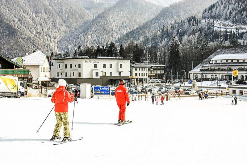 Lyžiarska škola v stredisku Semmering. Foto: Shutterstock