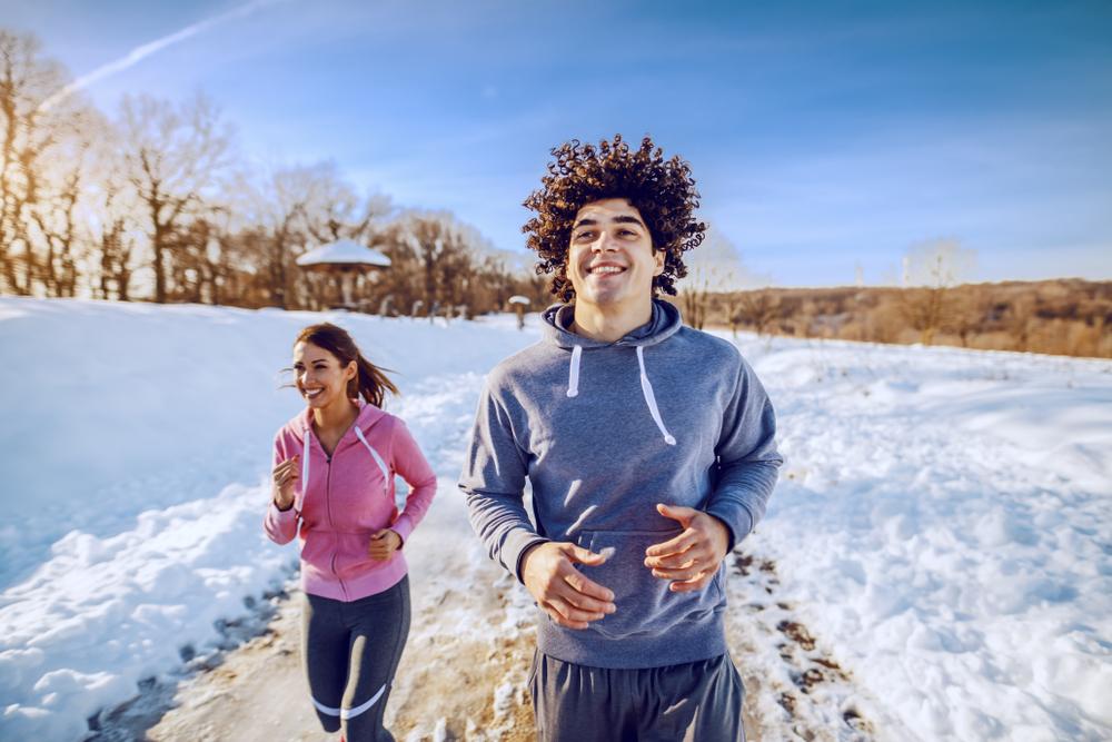 Beh v zime. Foto: Shutterstock