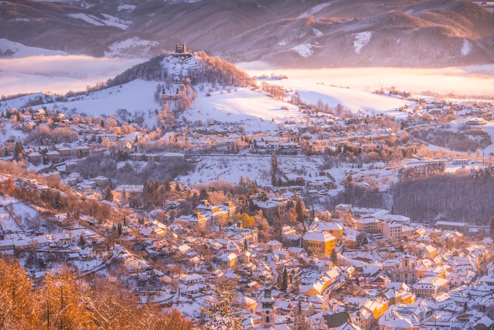 Banská Štiavnica. Foto: Shutterstock