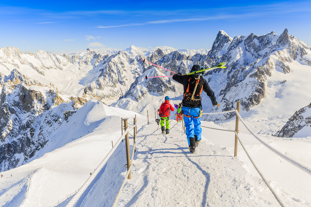 Chamonix Mont-Blanc, Francúzsko. Foto: Shutterstock