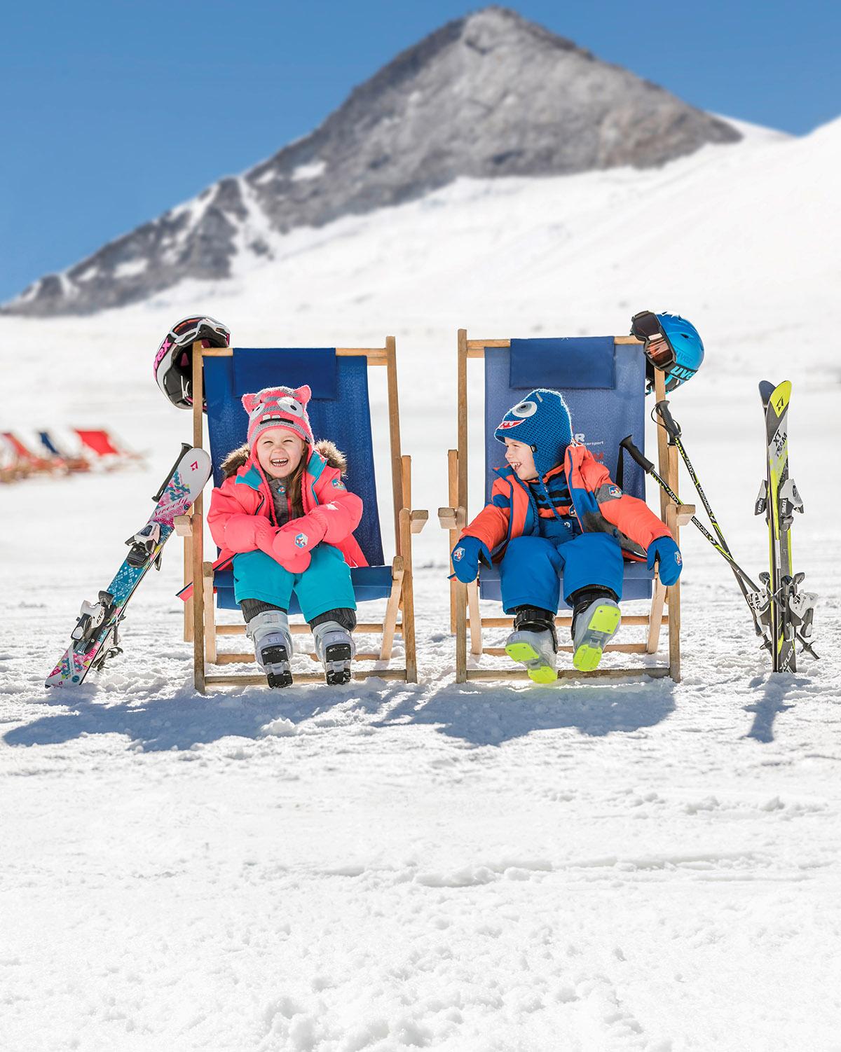 Detské rastúce lyže.