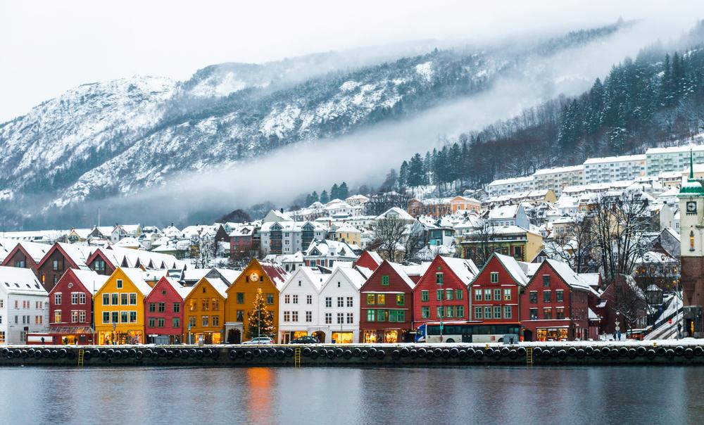 Bergen. Foto: Shutterstock