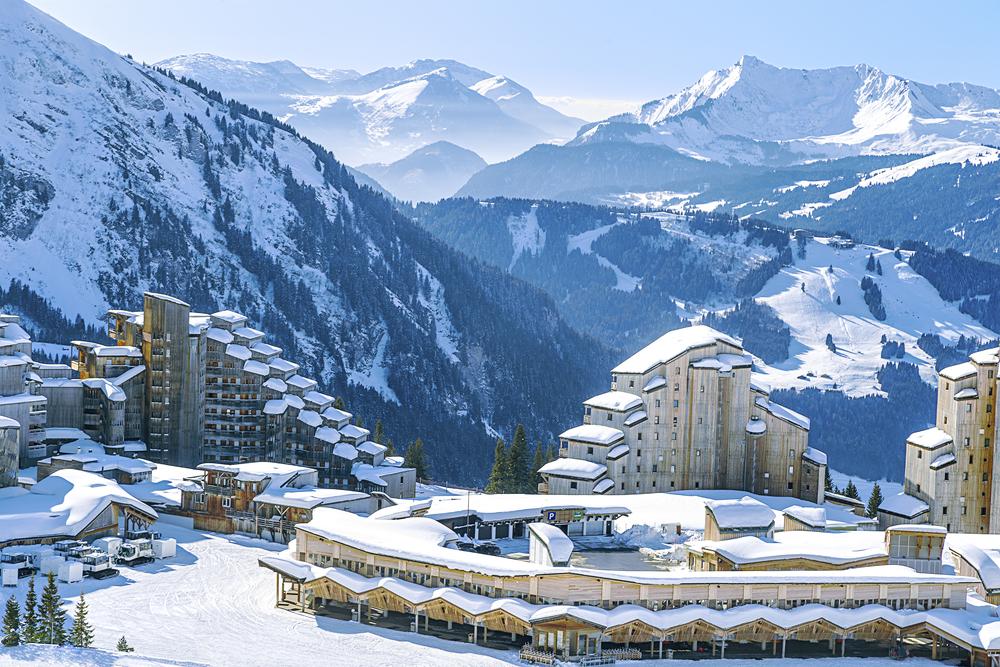 Lyžiarske stredisko Avoriaz. Foto: Shutterstock