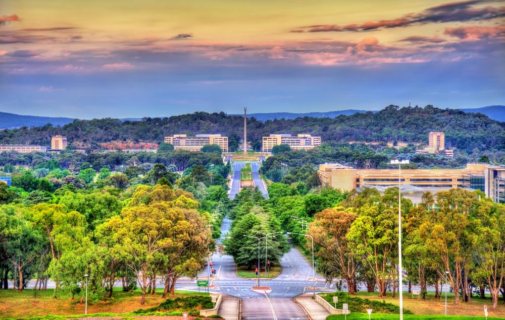 Canberra. Foto: Shutterstock