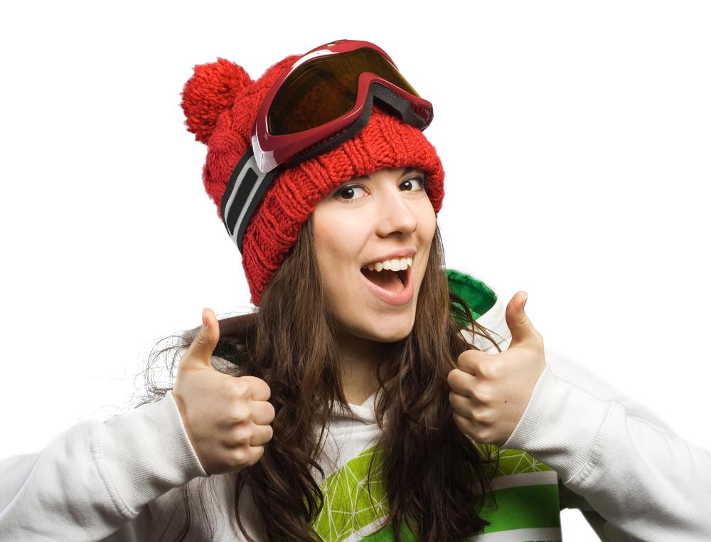 Lyžiarka. Foto: Shutterstock