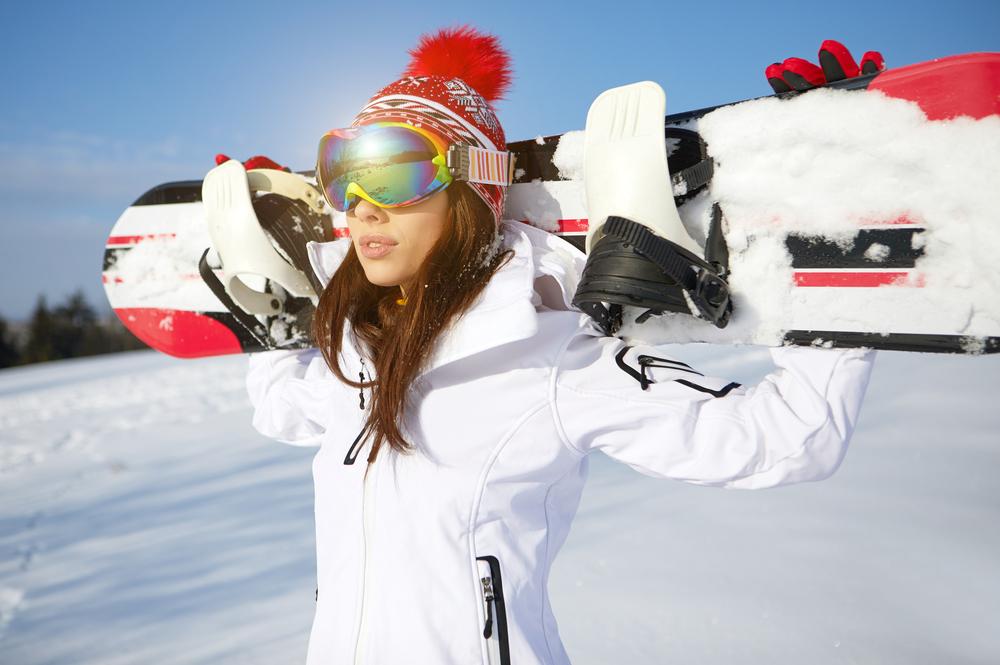 Lyžiarske okuliare. Foto: Shutterstock