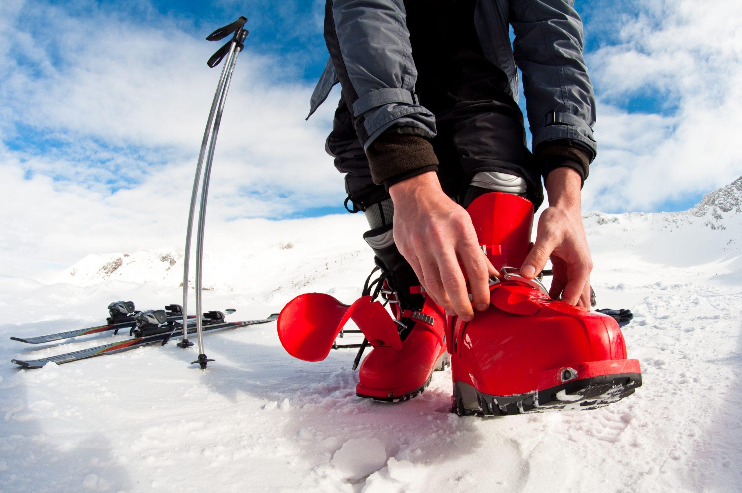 Výber lyžiarky. Foto: Shutterstock