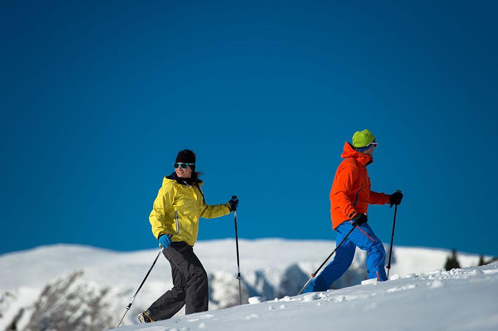 Rax na snežniciach. Foto: ©Claudia Ziegler