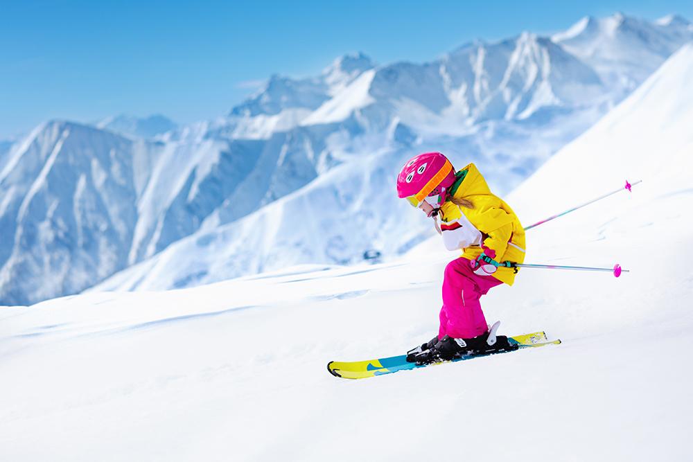 Prvé detské lyže. Foto: Shutterstock