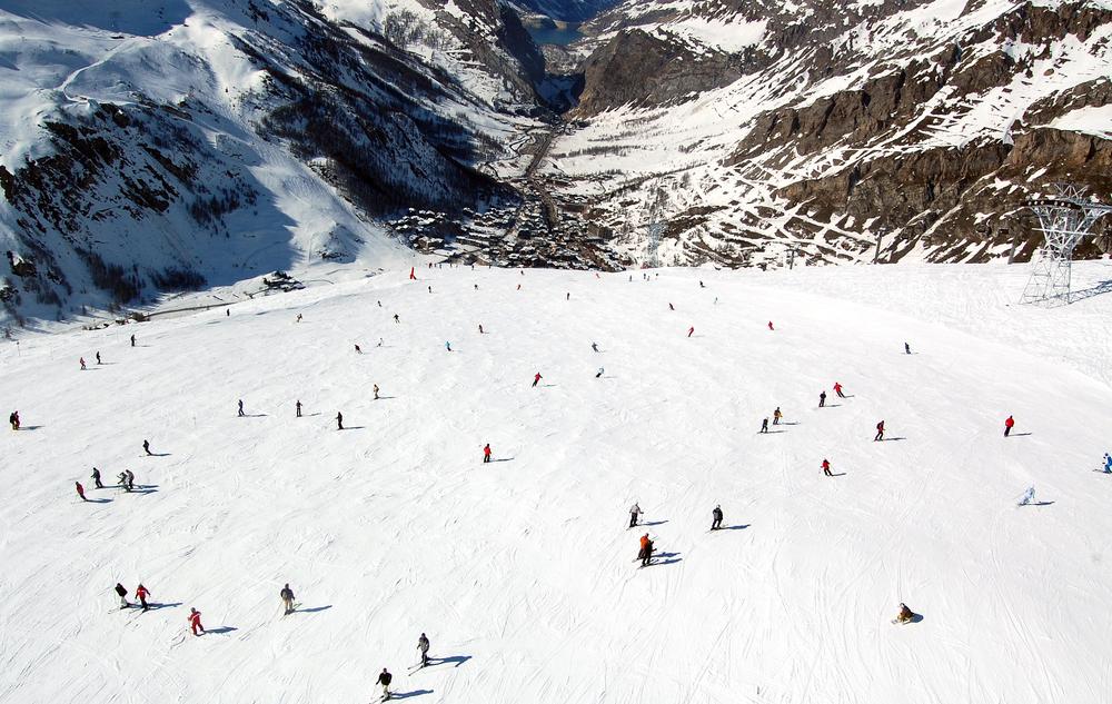 Val d'Isère, Francúzsko. Foto: Shutterstock