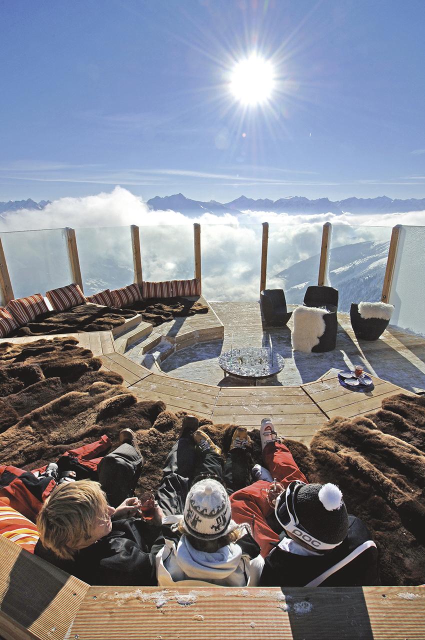 Kristallhütte - najlepšia lyžiarska chata na svete. Hochzillertal Kaltenbach. Foto: (c)Wörgötter&friends