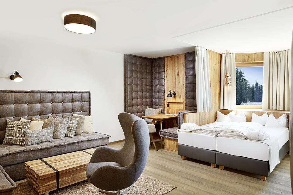 Izby v Sporthoteli Sillian sú maximálne pohodlné.