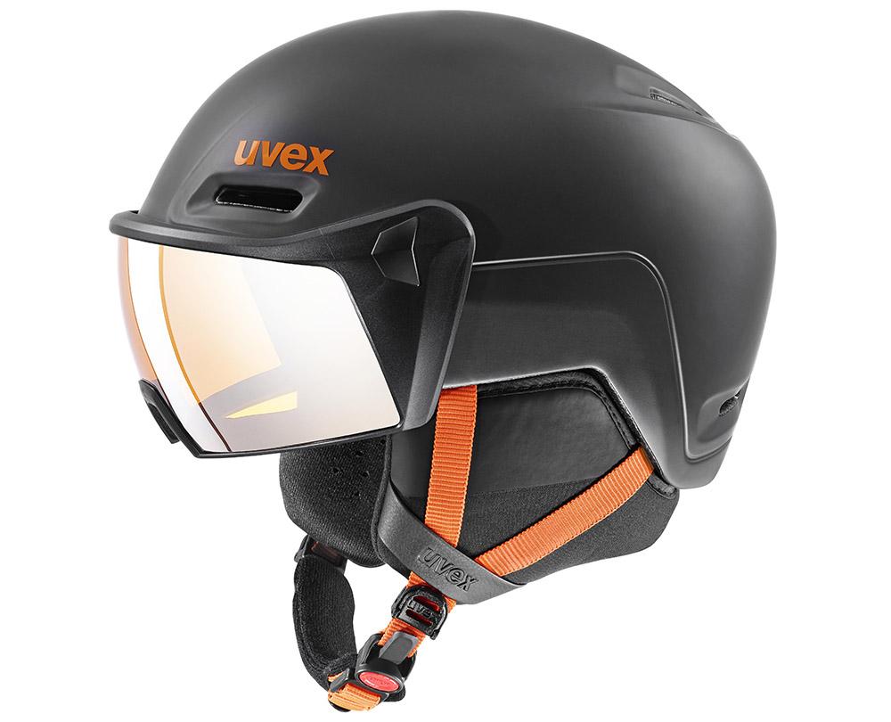 Inmould lyžiarska prilba uvex hlmt 700 visor