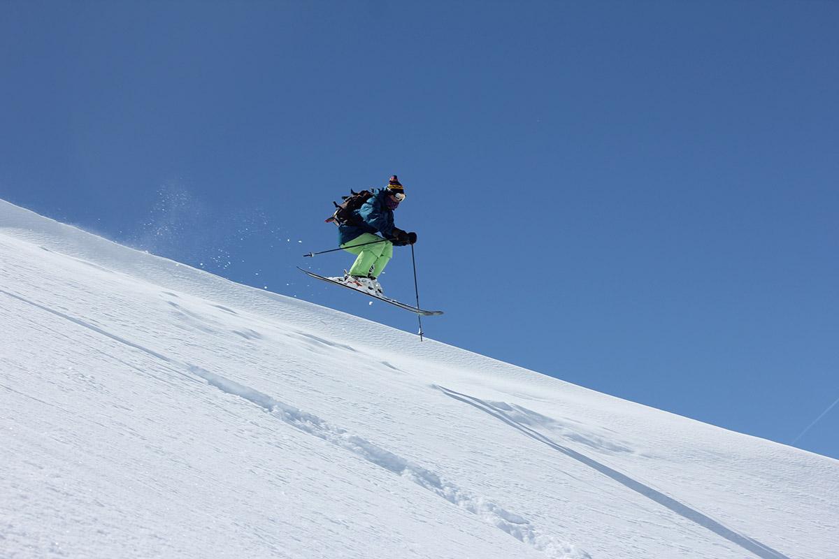 Testovanie lyží Hintertux